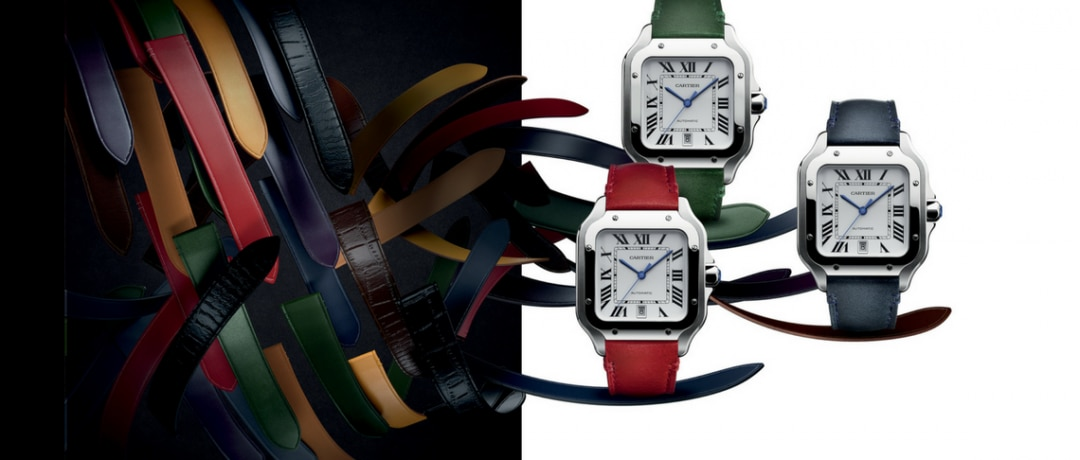 Presenting the 2018 Santos de Cartier Collection