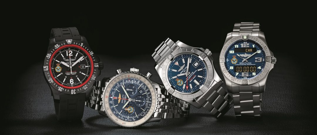 Breitling Launches A Limited Edition RAF100 Collection